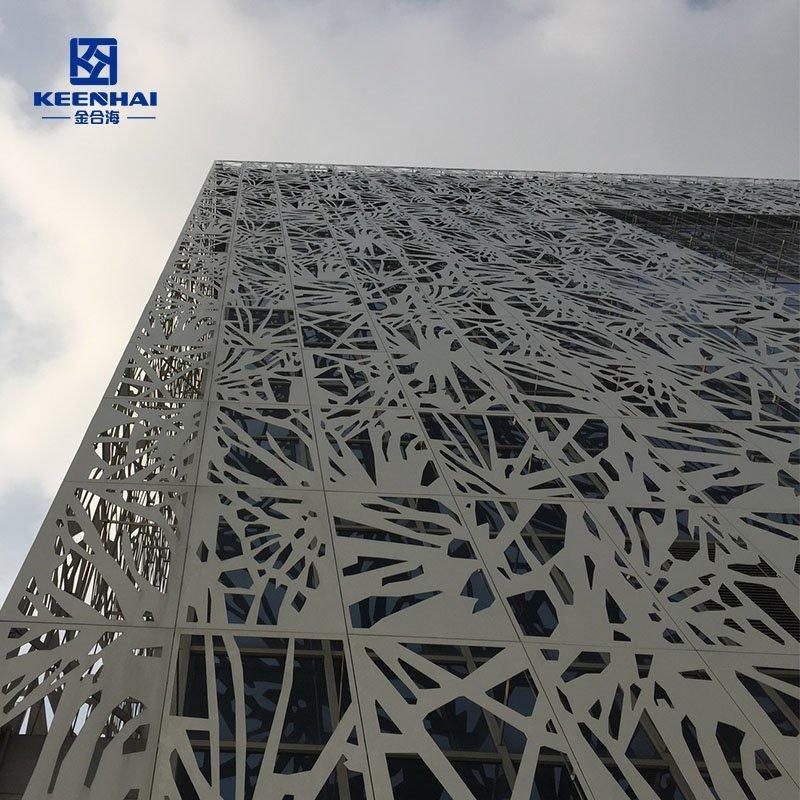 Laser cut Facade panel