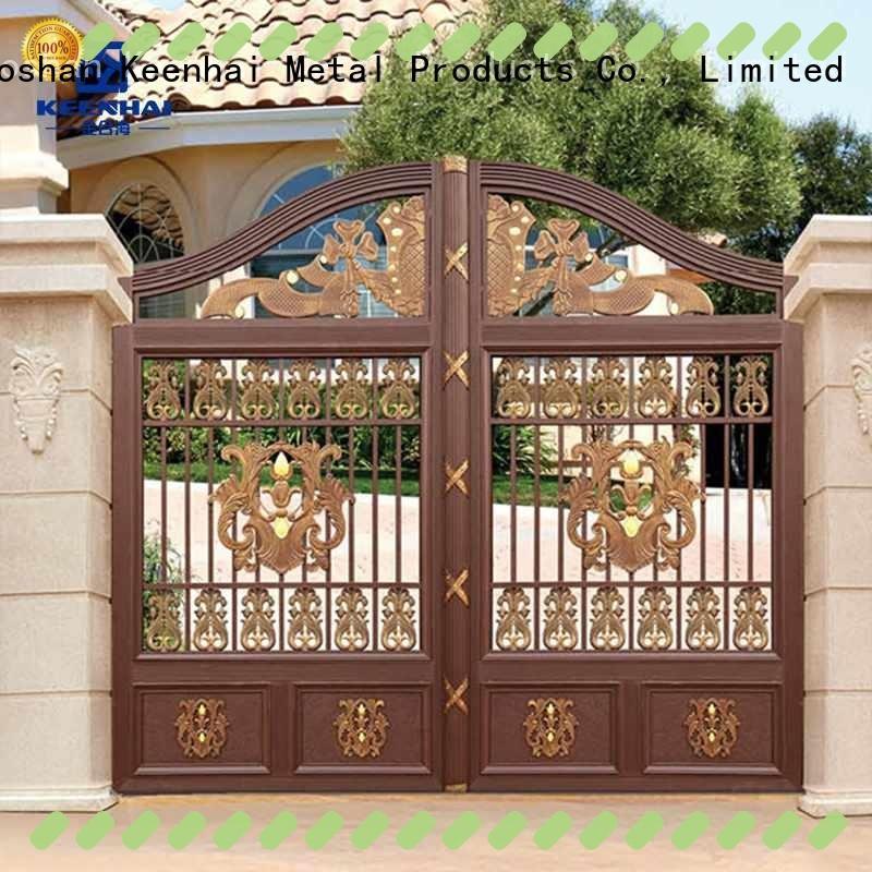 aluminum fence gate panel factory for garden