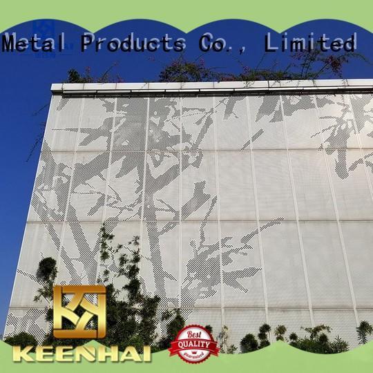 Keenhai simple installation Corten steel cladding for exterior decoration