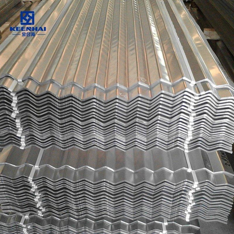 Metal currugted cladding panel