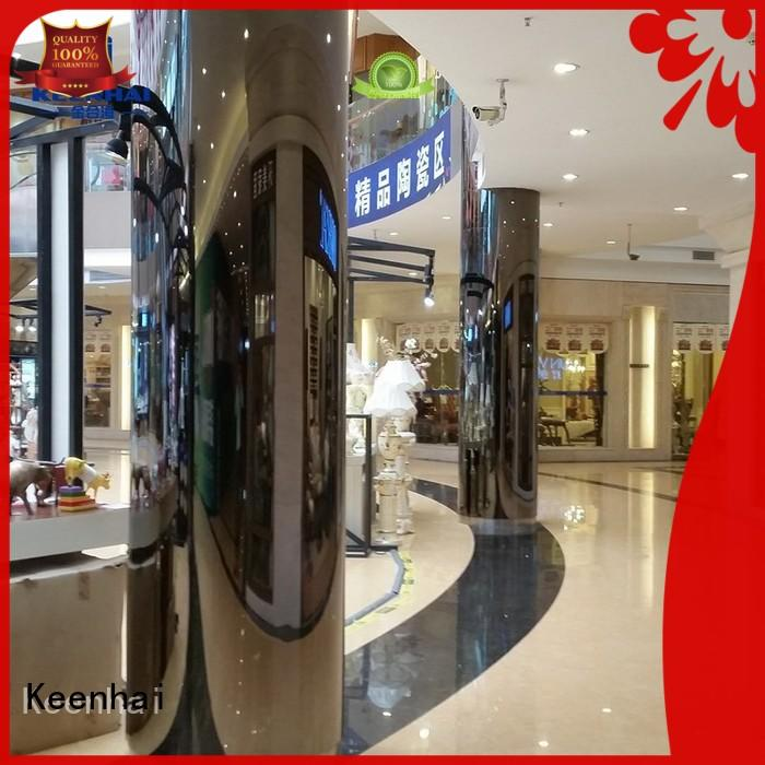 solid stainless steel OEM wall cladding Keenhai