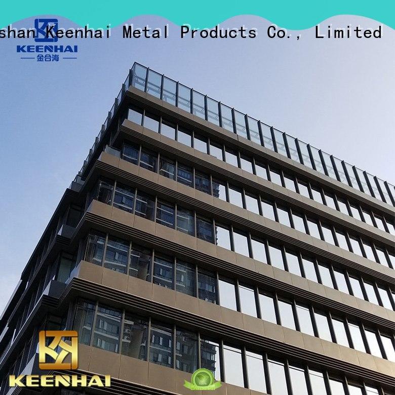 Keenhai perfect aluminium cladding design for exterior applications