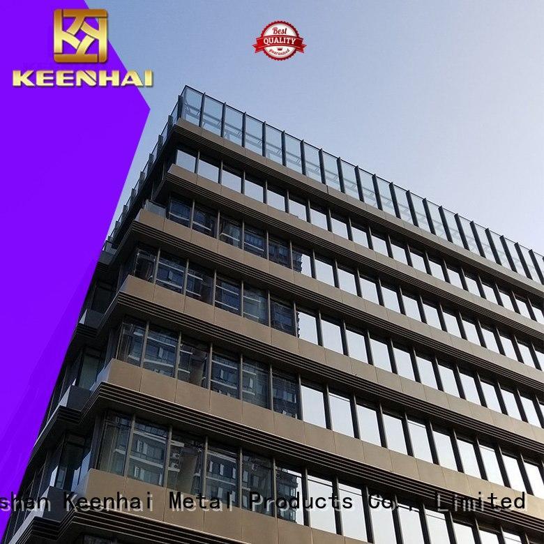 wall aluminum panels factory Keenhai
