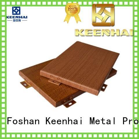 Keenhai customized aluminium panel sheet wood