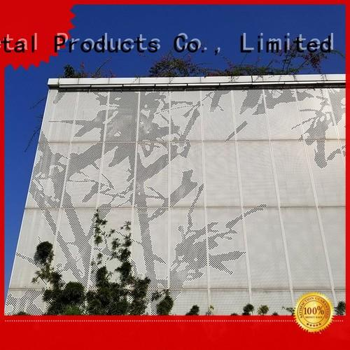 Keenhai latest perforated metal sheet design for hotel