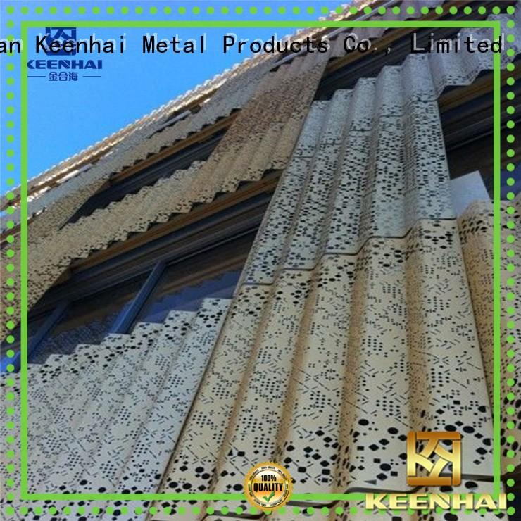 Keenhai strong packing corrugated metal roofing design for hotel