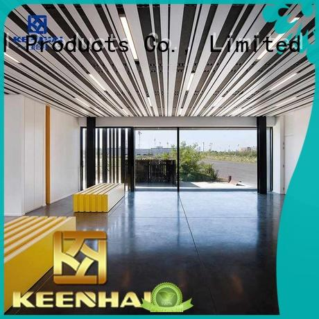 Keenhai fashion metal ceiling sheets fast shipping for decoration