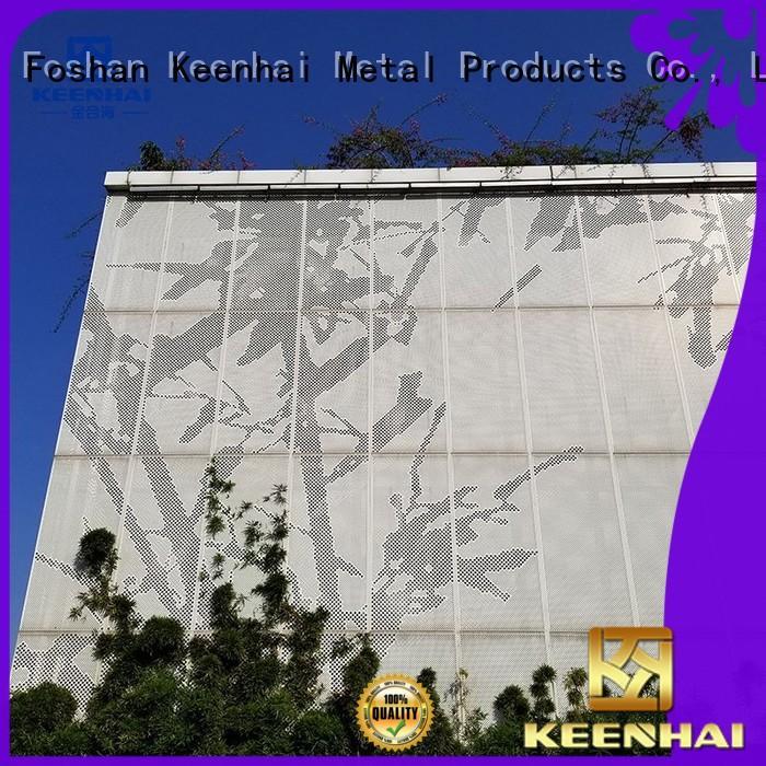 Keenhai decorative metal sheets manufacturer for exterior decoration