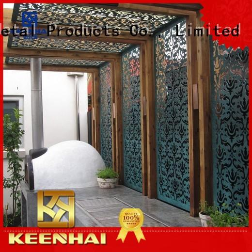 Keenhai fantastic laser cut decorative panels aluminum for decoration
