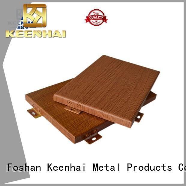 Keenhai customized aluminium wall cladding building for exterior applications