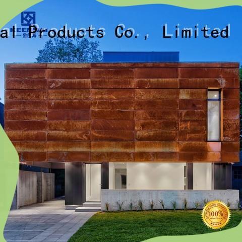 Keenhai cladding corten cladding provider for decoration