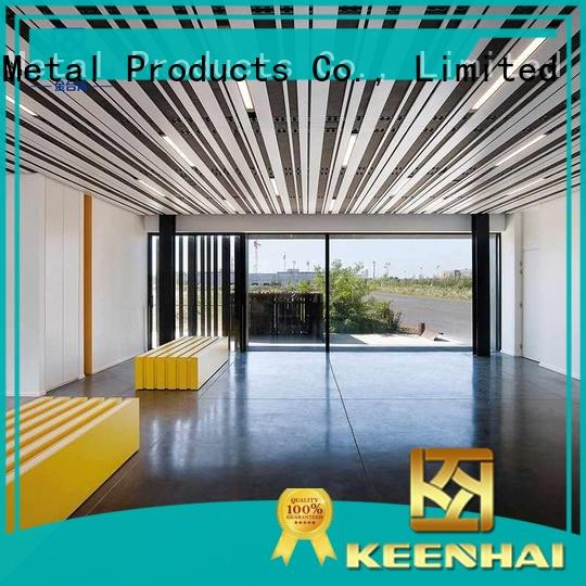 decoration metal ceiling sheets interior for hotel Keenhai