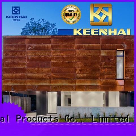 Keenhai exquisite corten steel panels supplier for decoration