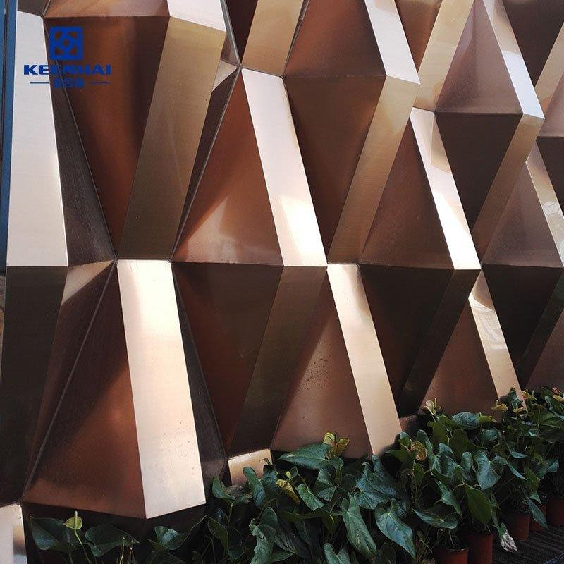 Stainless steel cladding panel