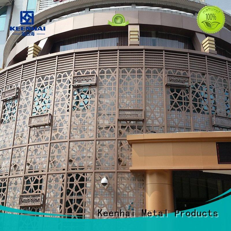 Keenhai Brand exterior aluminum wall louvers design