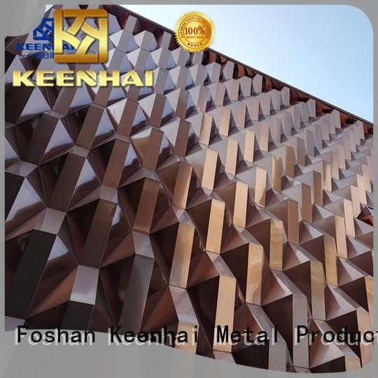 Keenhai 3d pvdf coating for villa