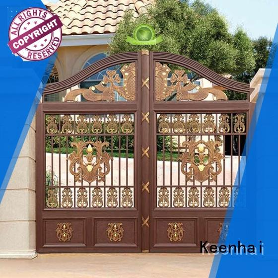 metal driveway gate courtyard metal Bulk Buy solid Keenhai
