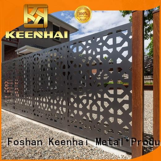 garden fence & gate metal factory for decoration