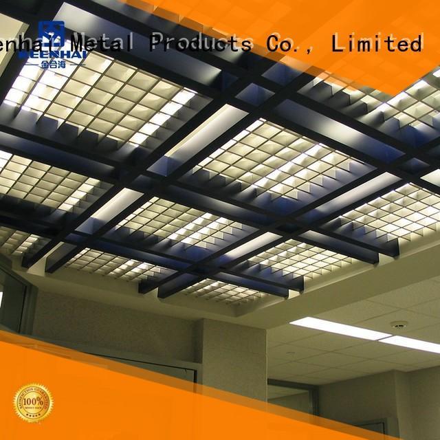 Keenhai elegant design grille ceiling factory for farm