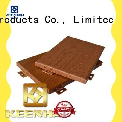 Keenhai aluminum wall panels supplier for exterior applications
