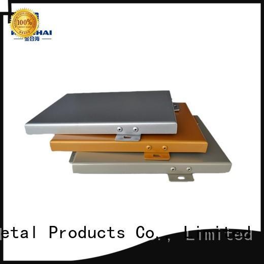 Keenhai wood aluminium cladding supplier for decoration