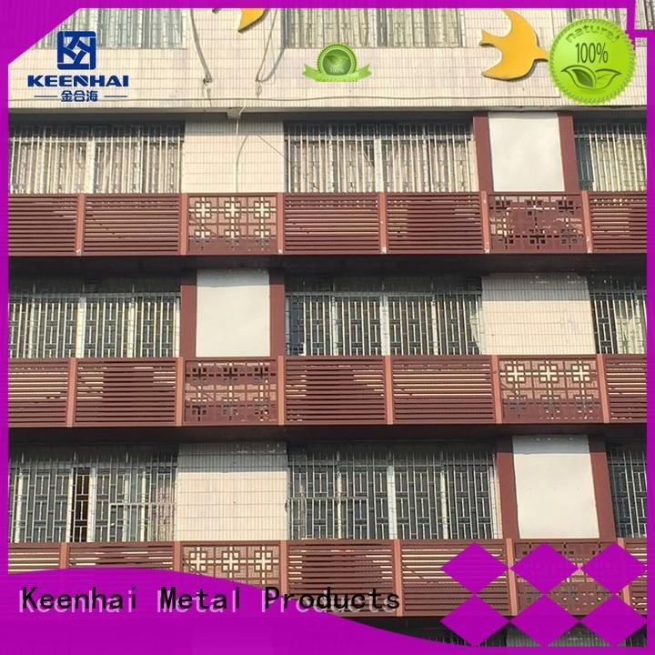 exterior aluminum air louver architectural decoration Keenhai