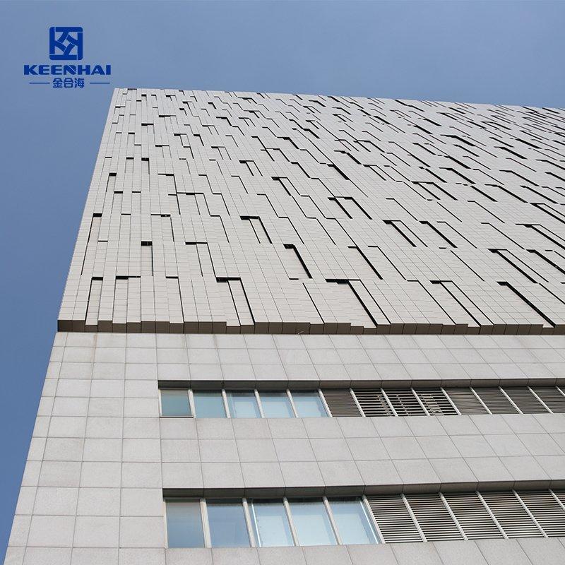 3D Facade cladding panel