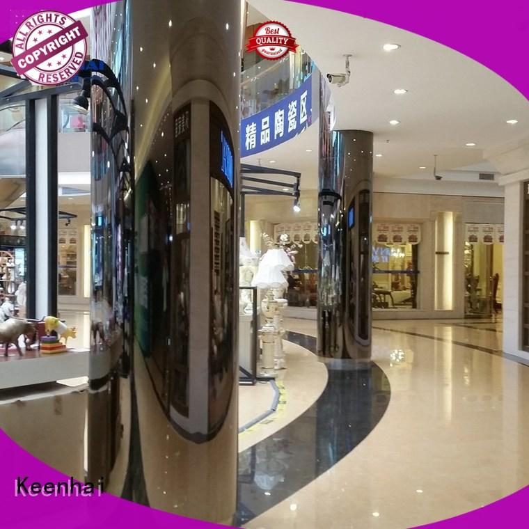 Quality Keenhai Brand stainless panel wall cladding