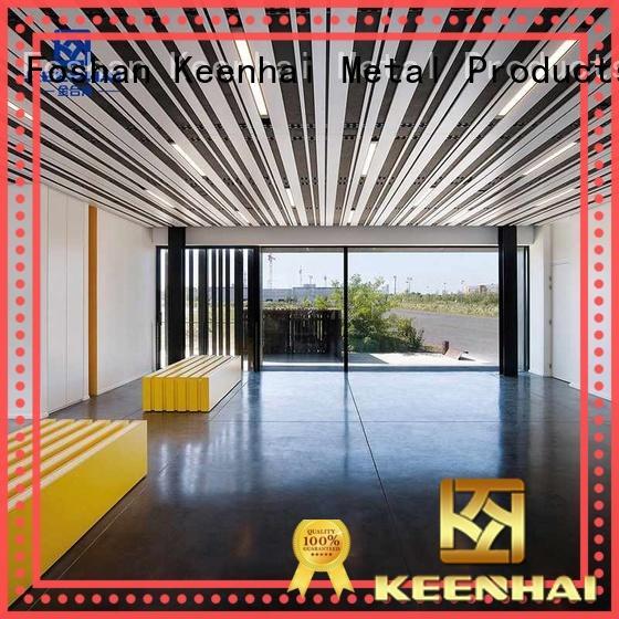 Keenhai Keenhai strip metal ceiling order now for hotel