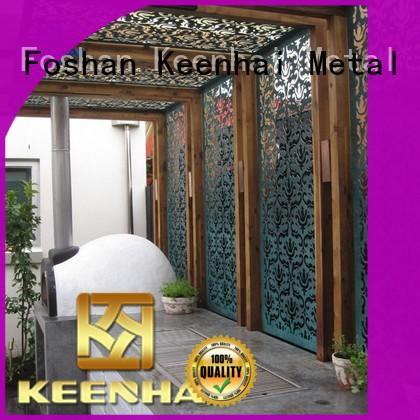 Keenhai garden laser cut ceiling supplier for decoration
