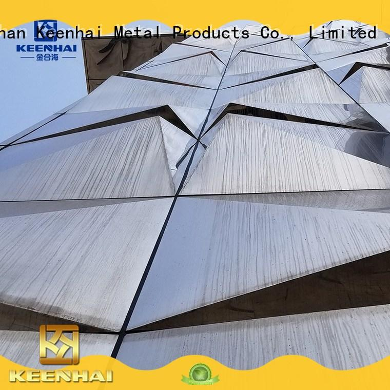 Keenhai facade pvdf aluminium composite panel supplier for villa